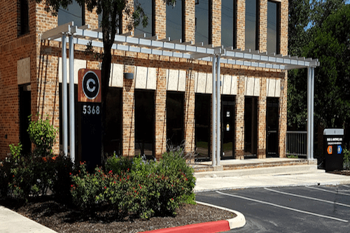 parking lot for building C of   Texas pain specialists