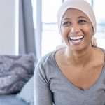 woman living with cancer pain